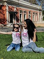 Женская футболка Прикольная собака батал  0218 Мила Код:956953452
