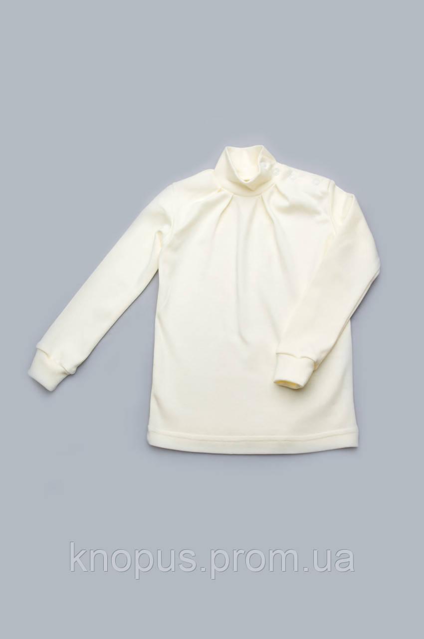Гольф детский белый, Модный карапуз, размеры  92-134