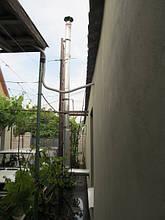Дымоход для твердотопливного котла – выход через стену. Как установить дымоход – схема, фото, отзывы 1
