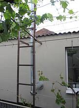 Дымоход для твердотопливного котла – выход через стену. Как установить дымоход – схема, фото, отзывы 2