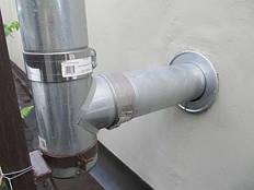 Дымоход для твердотопливного котла – выход через стену. Как установить дымоход – схема, фото, отзывы 4