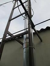 Дымоход для твердотопливного котла – выход через стену. Как установить дымоход – схема, фото, отзывы 6