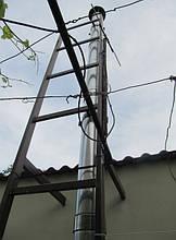 Дымоход для твердотопливного котла – выход через стену. Как установить дымоход – схема, фото, отзывы 7