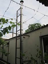 Дымоход для твердотопливного котла – выход через стену. Как установить дымоход – схема, фото, отзывы 10