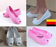 d46f0e410 Балетки женские. Германия Crocs. Летние женские босоножки, пляжные лодочки,  кроксы, обувь
