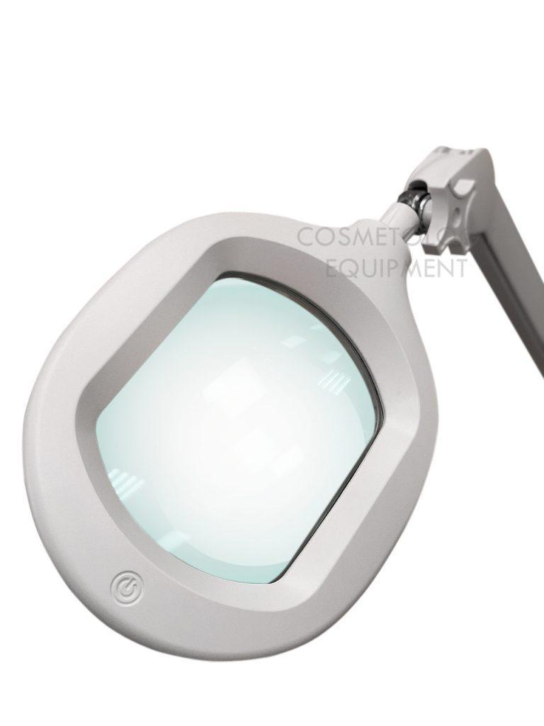 Косметологічна збільшувальна лампа з кріпленням і регулюванням яскравості (холодне світло) 6029 Led 5D