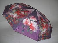 "Зонт женский цветок №1406 от фирмы ""SUSINO"" на 10 спиц из тонкого карбона."