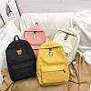 Стильный рюкзак молодежный с вышитыми вкусняшками
