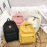 Стильный рюкзак молодежный с вышитыми вкусняшками, фото 1