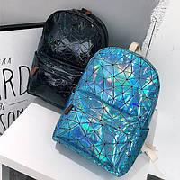 Голограммный рюкзак Геометрия, фото 1