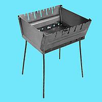 Мангал - чемодан 2 мм на 6 шампуров, фото 1