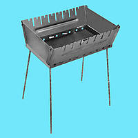 Мангал - чемодан 2 мм на 8 шампуров, фото 1