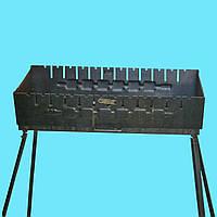 Мангал - чемодан 2 мм на 12 шампуров, фото 1