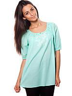 Изысканная летняя блуза с вышивкой (S-3XL в расцветках)