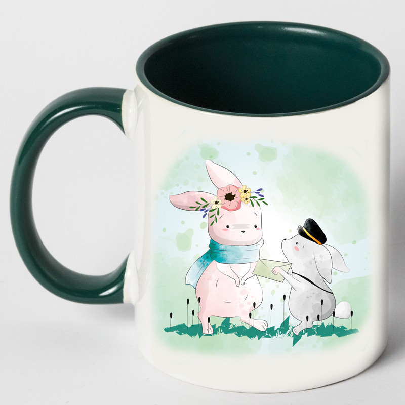 "Чашка ""Письмо зайцу"""