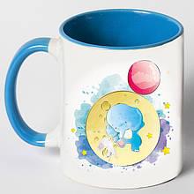 """Чашка """"Слоник на луне"""""""