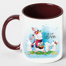 """Чашка """"Сім'я зайців"""", фото 3"""