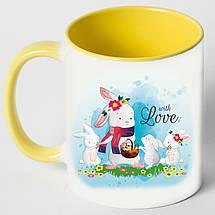 """Чашка """"Сім'я зайців"""", фото 2"""