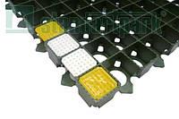 Маркер газонной решетки для парковки пластиковый желтый