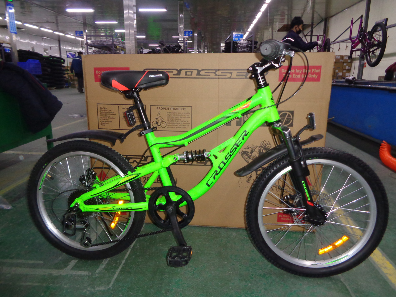 Подростковый двухподвесной велосипед алюминиевый Legion 20 дюймов 12 рама