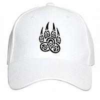 Кепки белые с печатью вашего логотипа