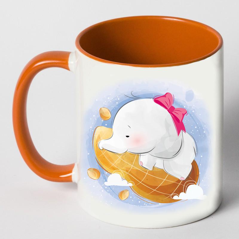 """Чашка """"Слон на арахисе"""""""