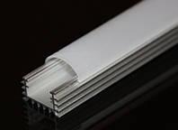 Алюминиевый LED профиль LP-5 накладной для светодиодной ленты, линейки, фото 1
