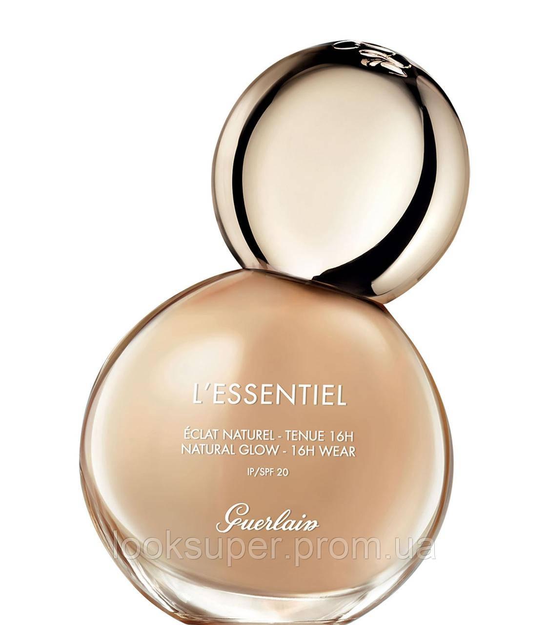 Тональная основа с эффектом сияния Guerlain L'Essentiel Natural Glow Foundation 16h Wear SPF 20  28 оттенков