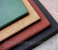 Резиновая плитка для тренажёрных залов 25 мм, фото 3