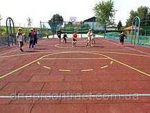 Резиновое покрытие для детских площадок , фото 3