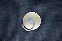 Держатель для телефона Кольцо круглая форма на палец металл PopSocket Попсокет попсокеты черный