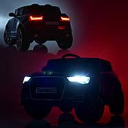 Детский электромобиль M 3998EBLRS-3 Audi Автопокраска Red Гарантия качества, фото 5