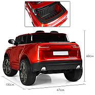 Детский электромобиль M 3998EBLRS-3 Audi Автопокраска Red Гарантия качества, фото 4