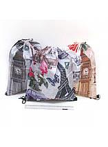 Сумка-мешок для обуви 32х43 см, нейлон, Josef Otten /, фото 3