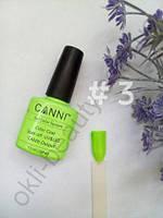 Гель-лак цветной Canni №003