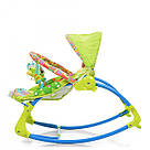 Шезлонг-качалка детский Bambi PK-306-5 Зеленый, фото 4
