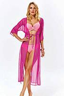 Длинное пляжное платье для женщин Argento 2106-1297 One Size Фуксия Argento 2106-1297