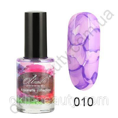 Акварельные капли (флюиды) для дизайна ногтей №10