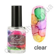 Акварельные капли (флюиды) для дизайна ногтей  (прозрачная база)