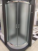 Душевая кабина SANTEH FABRIC 1001-F 100х100 низкий поддон, матовое стекло