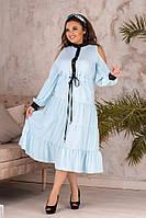 Платье   женское батал Люсия, фото 1