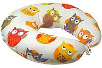 Подушка для беременных и кормления Руно, силикон Совы