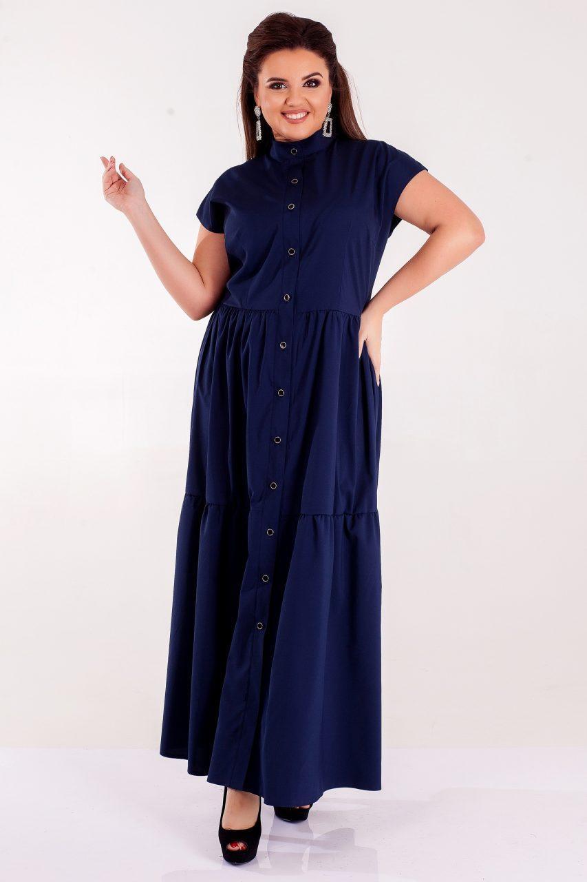 Женское платье Сакура желтое 8313