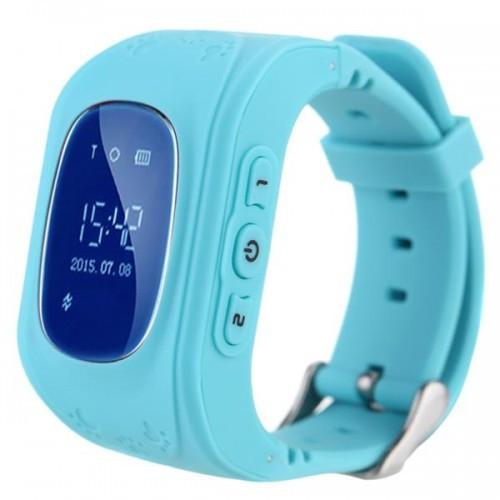 Детские умные смарт-часы с GPS Smart Watch UWatch Q50/G36 Light Blue