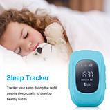 Детские умные смарт-часы с GPS Smart Watch UWatch Q50/G36 Light Blue, фото 6