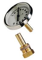 Термометр аксыальный без гильзы T63/50 0-120°C, фото 1