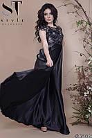 Платье женское вечернее Минимализм черное