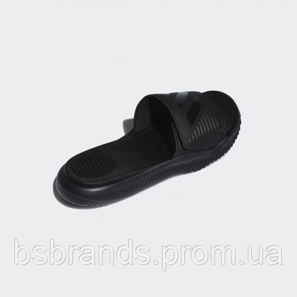 Мужские шлепанцы Adidas ALPHABOUNCE SLIDE CBLACK|CBL (Артикул: B41720) (2020/1)