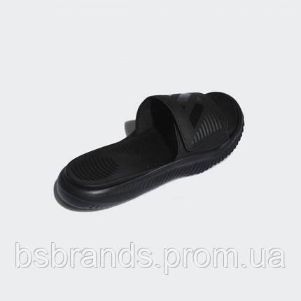 Мужские шлепанцы Adidas ALPHABOUNCE SLIDE CBLACK|CBL (Артикул: B41720) (2020/1), фото 2