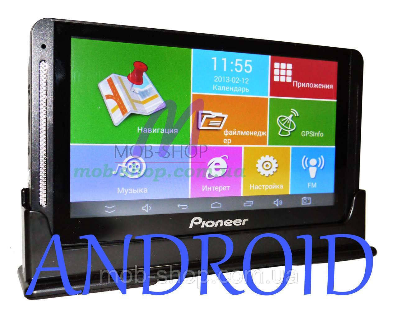 "Автомобильный GPS навигатор Pioneer 708 7"" Android 1/16 Гб"